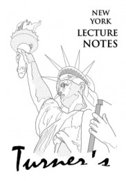 Peter Turner – New York, New York! (Lecture Notes, official pdf)