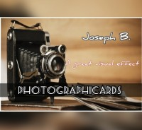 PhotographiCARDS by Joseph B. (Instant Download)