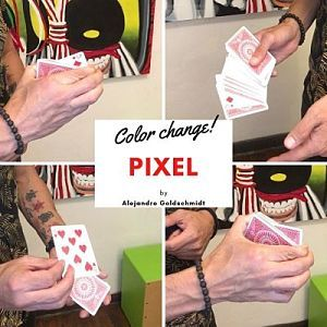 Pixel Change by Alejandro Goldschmidt (Instant Download)