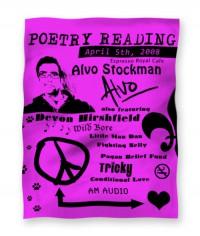Poetry Reading by Alvo Stockman