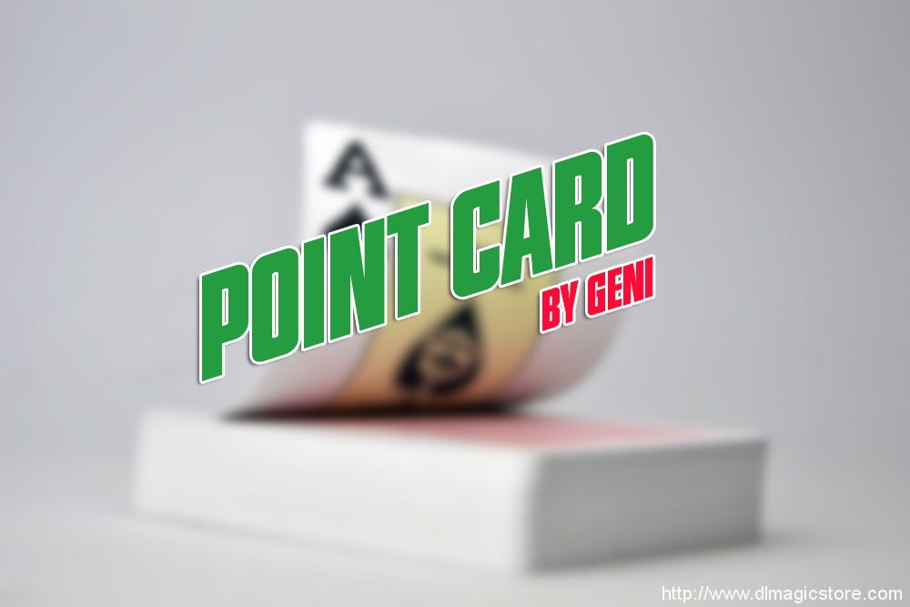 Point Card by Geni (Instant Download)