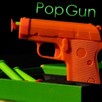 Pop Gun by Chad Long (Gimmick Not Included)