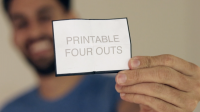 Printable Four Outs by Blake Vogt