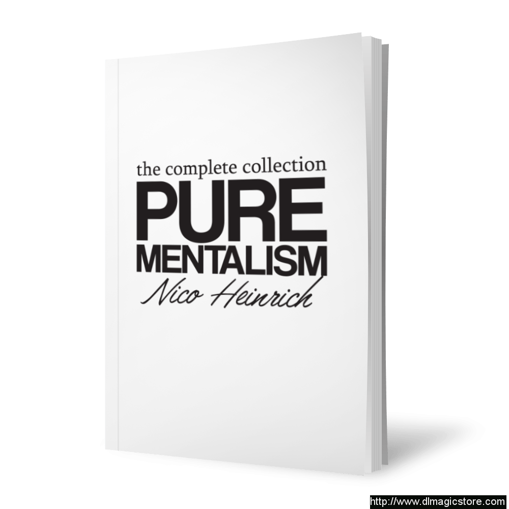 Pure Mentalism by Nico Heinrich (the complete collection)