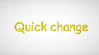 Quick Change by Sultan Orazaly