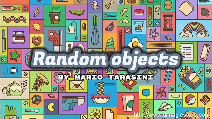 Random objects by Mario Tarasini