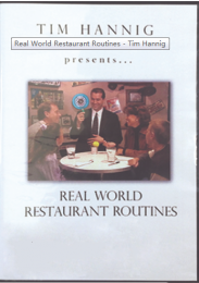 Real World Restaurant Routines – Tim Hannig
