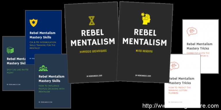 Rebel Mentalism – Learn How To Read Minds & Hypnotize Anybody (The Complete Package)
