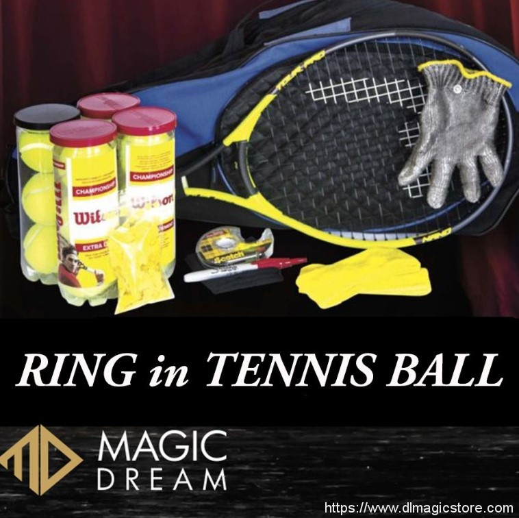 Ring in Tennis Ball by Joel Ward