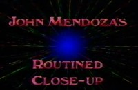 Routined Close Up By John Mendoza