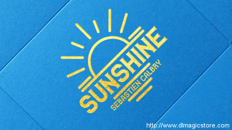 SUNSHINE (Online Instructions) by Sebastien Calbry
