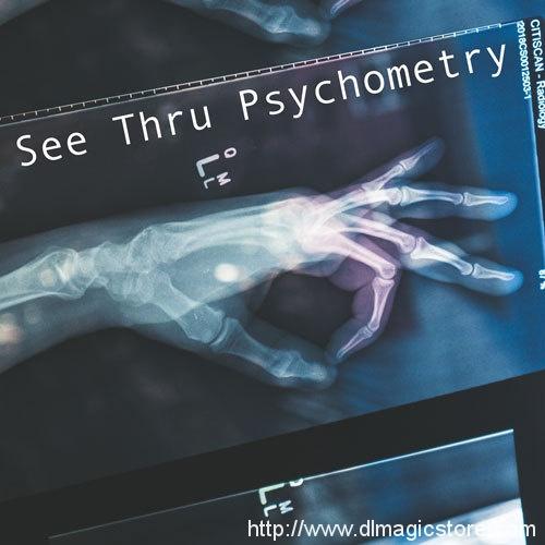See Thru Psychometry Presented by Alexander Marsh (Instant Download)