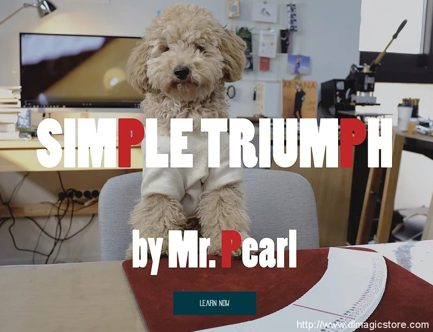 SIMPLE TRIUMPH BY MR. PEARL – MAGICIANS OF ASIA