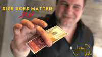 Size Does Matter 2.0 by Juan Pablo Magic (Gimmick Not Included)