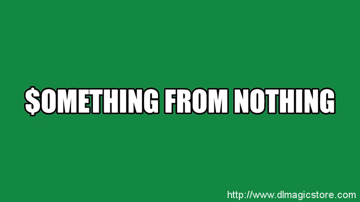 Something From Nothing by Damien Fisher video DOWNLOAD