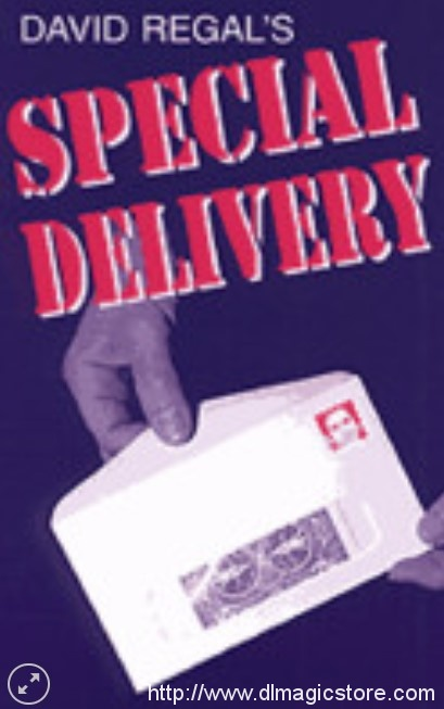 Special Delivery By David Regal