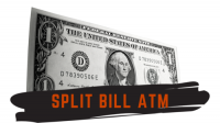 Split Bills ATM by Adam Wilber