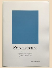 The Art of not giving a Fuck; Sprezzatura by Alex Hansford