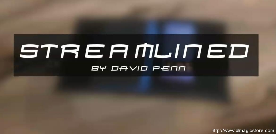 Streamlined by David Penn ( Blackpool release)