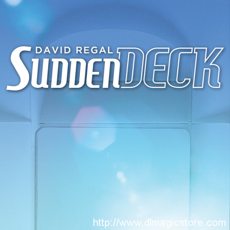 Sudden Deck 3.0 by David Regal (Gimmick Not Included)