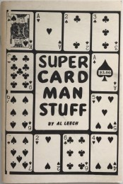 Super Card Man Stuff By Al Leech