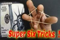 Super Six Tricks ! by Leslie Thyagarajan
