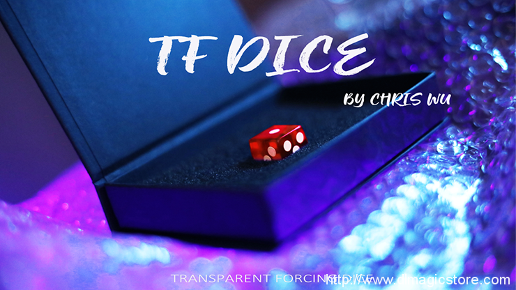 TF DICE (Transparent Forcing Dice) by Chris Wu (Gimmick Not Included)
