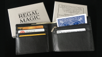 THE REGAL COP WALLET by David Regal (Gimmick Not Included)