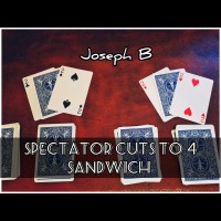 THE SPECTATOR CUTS TO FOUR SANDWICH by Joseph B. (Instant Download)