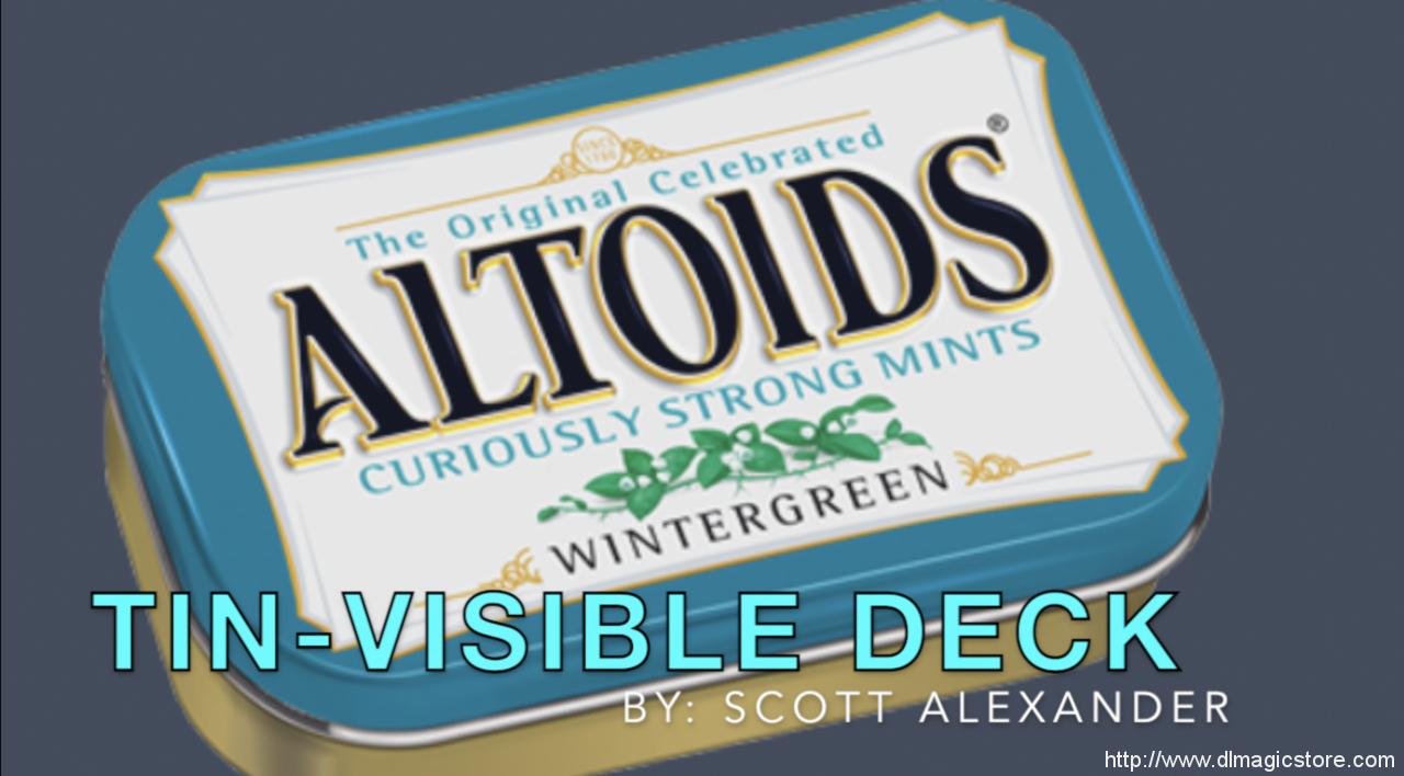 TIN-visible Deck by Scott Alexander (Instant Download)