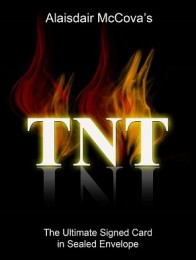 TNT card in sealed envelope By Alexander de Cova