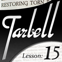 Tarbell 15: Restoring Torn Papers (Instant Download)