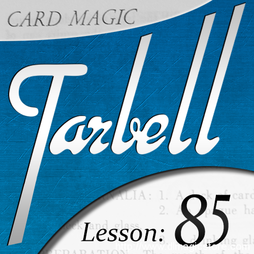 Tarbell 85: Card Magic Part 1 (Instant Download)