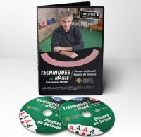 Techniques & Magie by Jean-Jacques Sanvert (2 DVD Set)