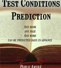 Test Conditions Prediction by Pablo Amira eBook (Download)