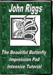 The Beautiful Butterfly Impression Pad by John Riggs