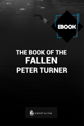 THE BOOK OF THE FALLEN BY PETER TURNER
