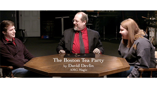 The Boston Tea Party by David Devlin and AMG Magic