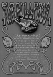 The Bullfrog Magazine Issue 1 by Magical Sleight