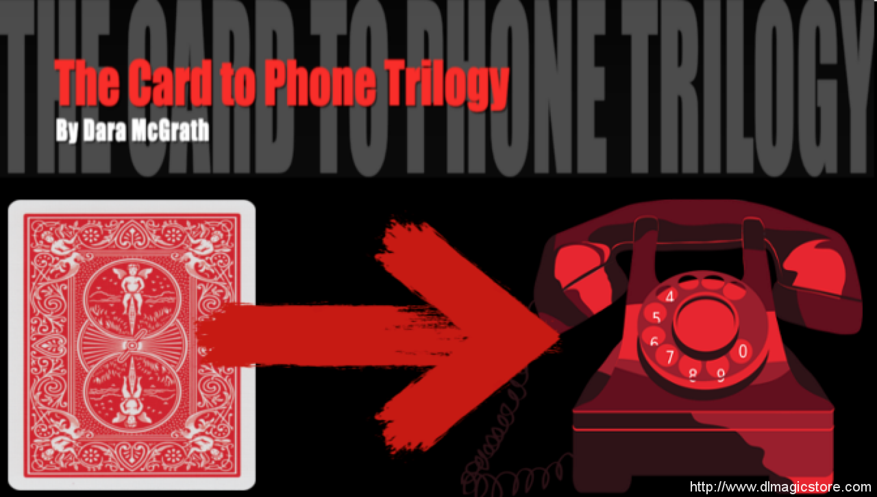 The Card to Phone Trilogy (Instant Download)