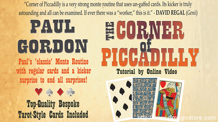 The Corner of Piccadilly (Online Instruction) by Paul Gordon