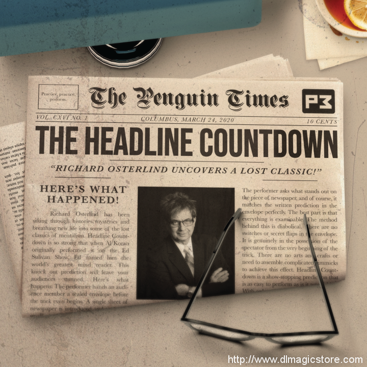The Headline Countdown by Al Koran presented by Richard Osterlind (Instant Download)