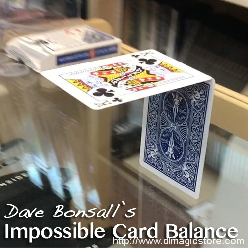 The Impossible Card Balance by Dave Bonsall – VIDEO DOWNLOAD ONLY