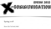 The Jerx – X-Communication Spring Issue 2018