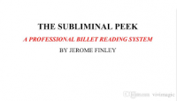 The Subliminal Peek by Jerome Finley