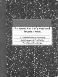 THE TAROT READERS NOTEBOOK by Ron Martin