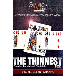 The Thinnest Deck by Mickael Chatelain (French)