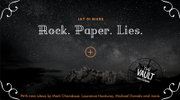 The Vault – Rock Paper Lies Plus by Jay Di Biase