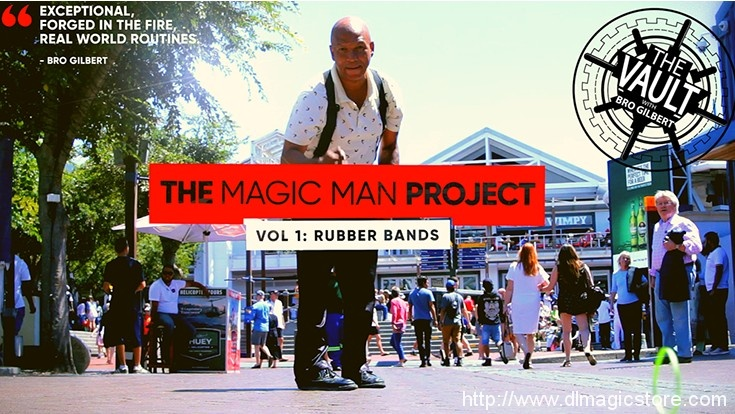 The Vault – The Magic Man Project (Volume 1 Rubber Bands) by Andrew Eland