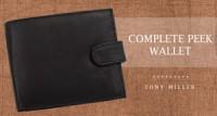 Complete Peek Wallet by Tony Miller
